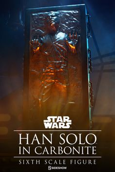 Star Wars Han Solo in Carbonite Sixth Scale Figure by Sidesh | Sideshow Collectibles
