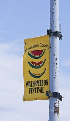 The Hampton County Watermelon Festival in Hampton, SC