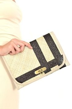 Courtney Clutch: On Sale for $10 (normally $48)!!! Handmade and Fair -Trade Certified