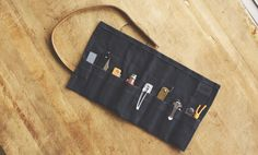 Cool Material x Bradley Mountain Waxed Canvas Knife Roll