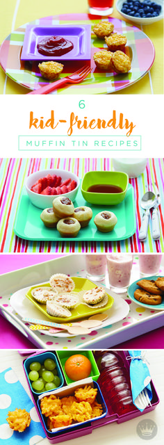 When it comes to preparing meals for kids, bigger isn't always better. Your little ones will love these perfectly sized portions of their favorite foods made using muffin tins. From pigs in a blanket to mini cherry pies, even the pickiest of eaters will enjoy these fun recipes!