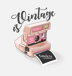 Vintage Camera More than a million free vectors, PSD, photos and free icons. Exclusive freebies and all graphic resources that you need for your projects Camera Illustration, Camera Drawing, Camera Art, Camera Icon, Printable Stickers, Cute Stickers, Posters Vintage, Concours Photo, Motivational Quotes For Women