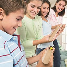 Kid's party games and other fun game ideas for all year long family fun on Disney Family. Relay Games, Fun Games, Party Games, Games To Play, Indoor Games For Kids, Indoor Activities, Activities For Kids, Group Activities, Leadership Activities