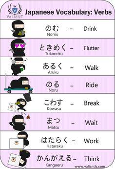 Casual verbs