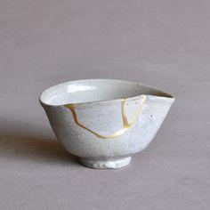 Japanese Early Karatsu Imari Half-Porcelain Tea Bowl