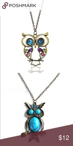 Bundle owl necklaces  Jewelry Necklaces