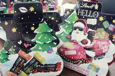 HELLO XMAS HELLO LITTLE XMAS GIFTS, 30g ; Strawberry Cheesecake Mini Sticks; Cookies & Cream Mini Sticks; Caramel Brownie Mini Sticks