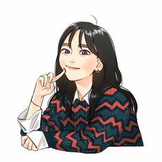 New Ideas drawing anime fantasy beautiful character design Girl Cartoon, Cartoon Art, Cartoon Faces, Korean Art, Wow Art, Illustration Girl, Anime Art Girl, Manga Girl, Aesthetic Art