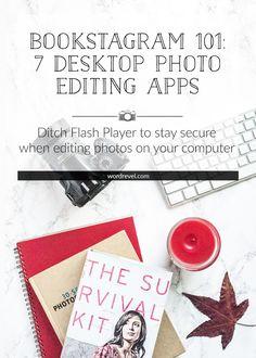 Bookstagram 101: 7 Desktop Photo Editing Apps   Word Revel   Bloglovin'