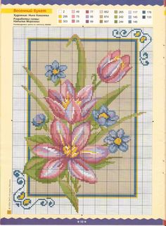 Cross stitch kit Closer to the Nature M-212