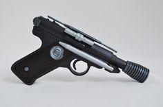 Designedbycomua - DT-12 Greedo blaster from Star Wars / Battlefront. Replica, props, cosplay.