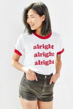 Camp Collection  X UO Alright Ringer Tee