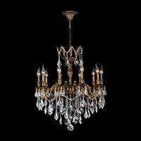 Worldwide Lighting W83340B26 Versailles 10 Light Crystal Chandelier