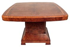 French Art Deco Dining Table on OneKingsLane.com