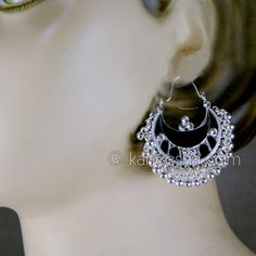 Silver Earrings Price: Usa Dollar $12, British UK Pound £07, Euro 9, Canada CA$ 13, Indian Rs648.