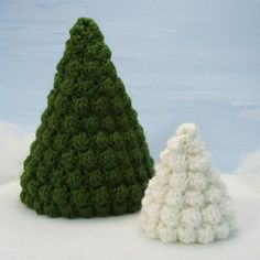 Tutorial Round Up: Crochet Christmas Tree Patterns | Gleeful Things