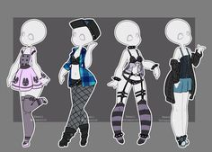 Gacha outfits 15 by kawaii-antagonist.deviantart.com on @DeviantArt