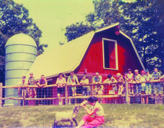 The Children's Farm at Cleveland Metroparks Zoo. Opened in mid-1959, allowed children to get a close-up view of farm livestock.