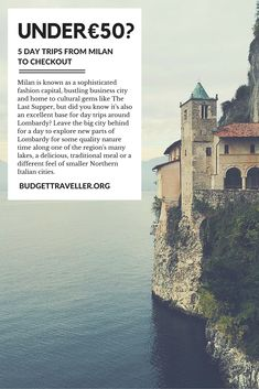 5 Day Trips from Milan