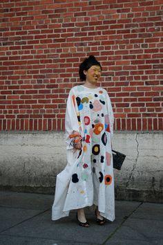 Celebration Applique Couture Caftan - Kindah