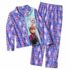Disney Frozen Pajama Set Girls