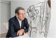 Hubert Looser mit Pablo Picasso, © Succession Picasso / Bildrecht, Wien, 2018, Foto: Brechbühl Pablo Picasso, Warhol, Spaces, Art, Contemporary Art, Culture, Art Background, Kunst, Performing Arts