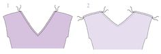 Facing is a great way for beginners to finish a neckline since you end up with no visible stitch along the neckline. Here's how to sew the facing.