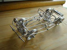 Wire Antique Car 針金細工 アンティーク車|ぷりんの趣味ブログ