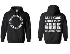 Did someone make this just for me!? https://www.etsy.com/listing/211749259/dirtrocker-nation-jeep-hoodie-sweatshirt
