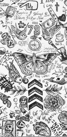 one direction tattoos wallpaper