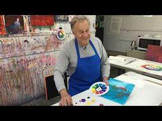 """BobBlast 92 """"Finishing a Loose Painting"""" - YouTube"""
