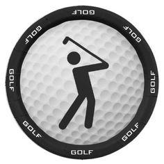 Golf Design Paper Party Plate  sc 1 st  Pinterest & Golf Ball Design Paper Party Plate | Golf Inspiration | Pinterest | Golf