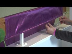 how to make worship flags - securing flag to pole so that it does not gather or slip, etc.