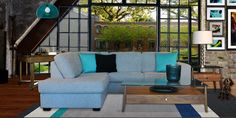 EDGE – CONDO-SIZED SECTIONAL SOFA | Mariette Clermont