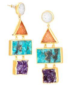 Yantra Earrings from Nina Nguyen Designs; MSRP: $695