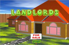 Purchase as many houses as possible on the same piece of land in this buyer`s market! http://competeandplay.com/strategy-games/landlords