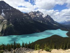 Peyto Lake Alberta CA [OC] 3264x2448]   landscape Nature Photos