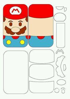 Molde Mario Bros