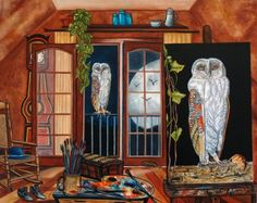 The White Owl by k Madison Moore