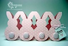 "Bunny card...cute ""tails""!!!"