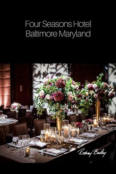 Four Seasons Hotel Baltimore Rehearsal Dinner Decorations, Rehearsal Dinners, Wedding Officiant Script, Affordable Wedding Photography, Baltimore Wedding, Wedding Venue Inspiration, Affordable Wedding Venues, Cheap Wedding Invitations, Wedding Sparklers