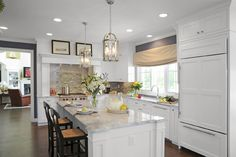 Westerville, Ohio kitchen designed by Stefanie Ciak of J.S. Brown & Co.  Photography by Visual Edge.