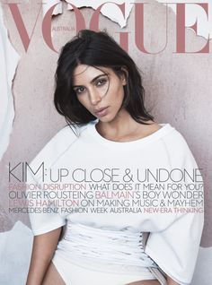 Keeping Up With Kimye — Kim Kardashian West for Vogue Australia shot by...