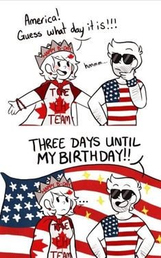 Can someone draw America giving Canada a mating press please - iFunny :) Hetalia, Happy Canada Day, Happy B Day, Funny Images, Funny Pictures, Bubbline, History Memes, Country Art, Stupid Funny Memes