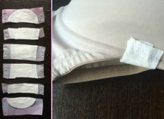 Cut up a maxi pad to cover a wire poking out of your bra! Great for when this happens and you are out and about