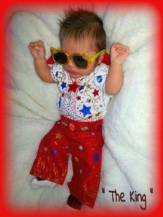 Baby Elvis - Halloween Costume Contest via @costumeworks