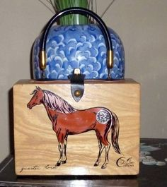 Quarter Horse. I've never seen this one before!