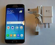 Samsung Galaxy S6 SM-G920T  32GB  Black Sapphire (Unlocked) Smartphone ALL @BRAINBOX