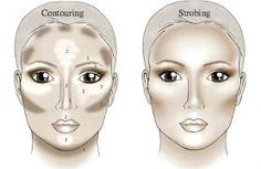 Contouring vs strobing.... Looks like I've been ahead of the game forever now! I've always strobed!