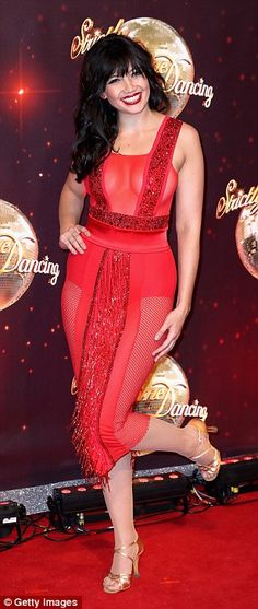 Daisy Lowe joins Laura Whitmore and Louise Redknapp at Strictly Come Dancing…